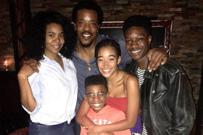 the hate u give cast